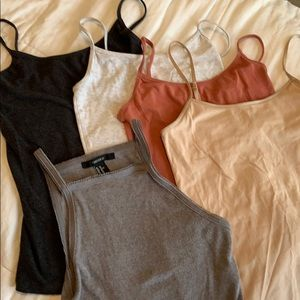Bundle of tanks from F21 and AE Outfitters